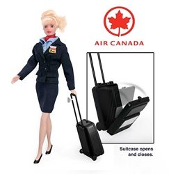 Air Canada Flight Attendant Doll, Daron Toys Item Number DA847
