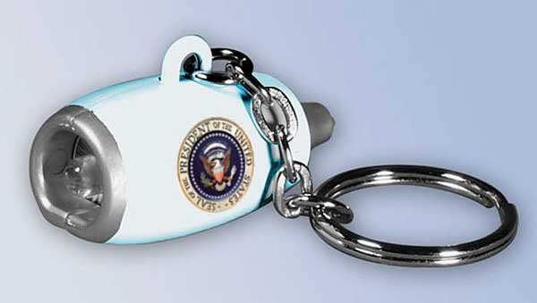 Air Force One Flashlight Engine Keychain, Daron Toys Item Number EK1002