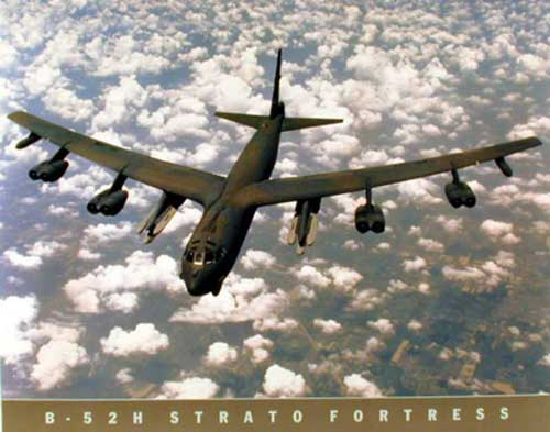 B52H Stratofortress Poster, Daron Toys Item Number IM20850