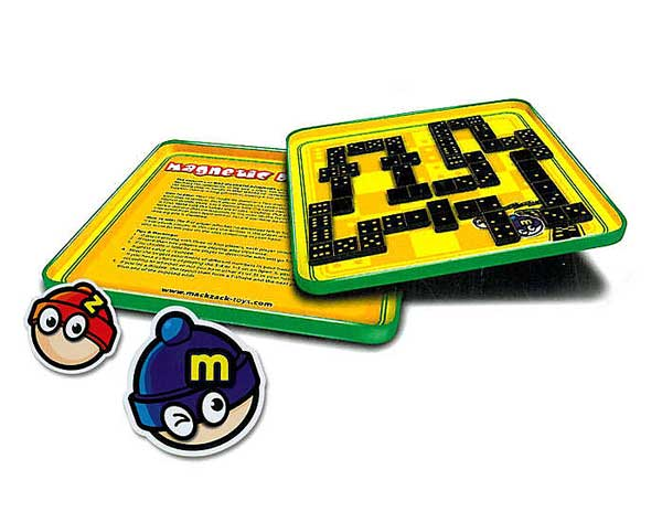 Dominoes Magnetic Travel Game, Travel Games Item Number MZ660108