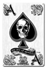 Ace Of Spades Vintage Metal Sign, 12 By 18 by Vintage Sign Company item number: WKS001