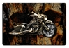 Evil Bones Motorcycle Vintage Metal Sign, 18 By 12 by Vintage Sign Company item number: WKS002
