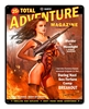 Total Adventure Magazine Vintage Metal Sign, 12 By 15 by Vintage Sign Company item number: JV005