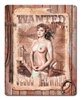 Wanted Vintage Metal Sign, 12 By 15 by Vintage Sign Company item number: JV016