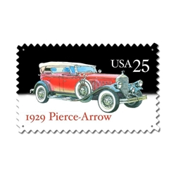 1929 Pierce Arrow Vintage Metal Sign, 16 By 24 by Vintage Sign Company item number: USPS051