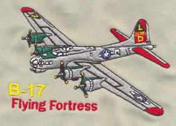 B-17 Embroidered Hat, Born Aviation Aviation Gifts Item Number HTE-B17