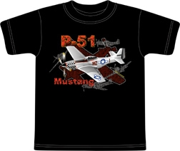 Metallic Mustang Kids T-shirt, Born Aviation Aviation Gifts Item Number KW-MM