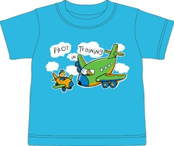 Pilot in Training Toddler shirt, Born Aviation Aviation Gifts Item Number KW-PT