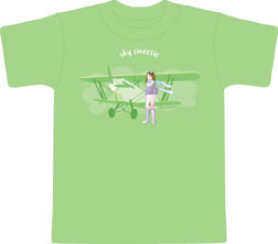 Sky Sweetie Toddler shirt, Born Aviation Aviation Gifts Item Number KW-SW
