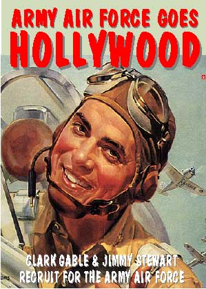 Army Air Force Goes Hollywood, Non-Fiction Video Aviation DVDs Item Number DV519
