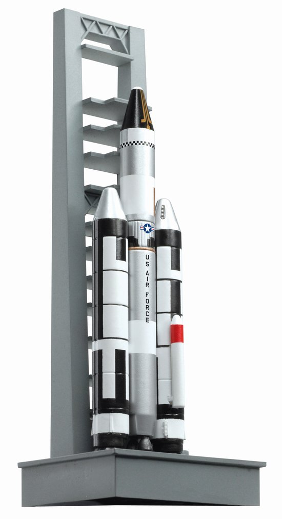 Titan IIIC - Modified titan II with 2 solid rocket strap-on (1:400), DragonWings 400 Diecast Airliners Item Number DRW56228