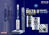 "Delta II Rocket ""7925 Heavy"" w/Launch Pad (1:400), DragonWings 400 Diecast Airliners Item Number DRW56339"