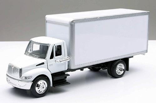 New Ray Diecast - International 4200 Box Utility Truck (1:43