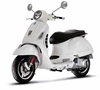 Vespa GTS 300 Super, White (1:12)