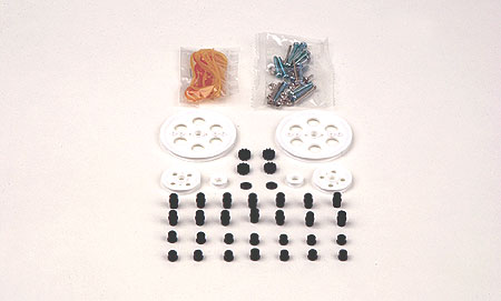 Pulley Set Large, Tamiya Plastics Item Number TAM70141