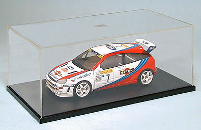 Display Case for 1:24 Scale Cars, Tamiya Plastics Item Number TAM73004