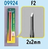 Model Micro Chisel 2mm X 2mm,  Item Number TRP9924