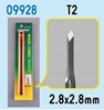 Model Micro Chisel 2.8mm Diamd,  Item Number TRP9928
