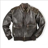 100 Mission A-2 Jacket Large - Clearance Item, Cockpit/Avirex Leather Jackets Item Number Z2011A-LAR