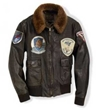 "Classic WWII Vintage Naval Aviator's ""100 Mission"" Size 48 - Clearance Item, Cockpit/Avirex Leather Jackets Item Number Z21A0241-48"
