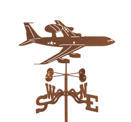AWACS Airplane Weathervane, EZ Vane Weather Vanes Item Number EZVAWACS