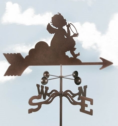 Angel on Cloud Weathervane, EZ Vane Weather Vanes Item Number EZVAngelCloud