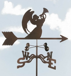 Angel with Horn Weathervane, EZ Vane Weather Vanes Item Number EZVAngelHorn