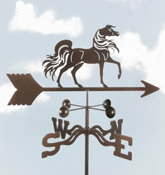 Arabian Horse Weathervane, EZ Vane Weather Vanes Item Number EZVArabian