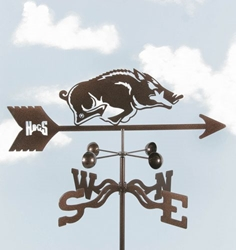Arkansas Razorbacks Logo Weathervane, EZ Vane Weather Vanes Item Number EZVArkansas