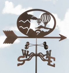 Hot Air Balloon Weathervane, EZ Vane Weather Vanes Item Number EZVBalloons