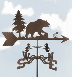 Bear Weathervane, EZ Vane Weather Vanes Item Number EZVBear