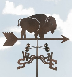 Bison Weathervane, EZ Vane Weather Vanes Item Number EZVBison