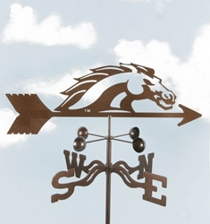 Broncos Logo Weathervane, EZ Vane Weather Vanes Item Number EZVBroncos