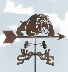 Bulldog  Weathervane, EZ Vane Weather Vanes Item Number EZVBulldog
