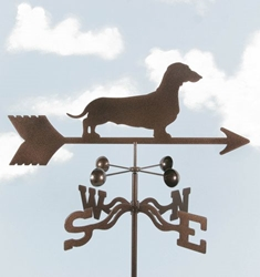 Daschund Dog Weathervane, EZ Vane Weather Vanes Item Number EZVDaschund