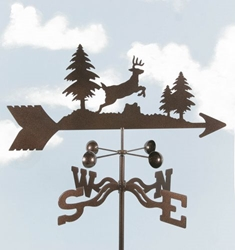 Jumping Deer Weathervane, EZ Vane Weather Vanes Item Number EZVDeer