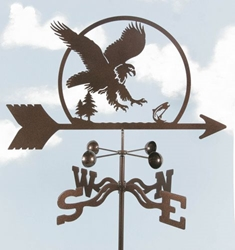 Eagle Bird Weathervane, EZ Vane Weather Vanes Item Number EZVEagle