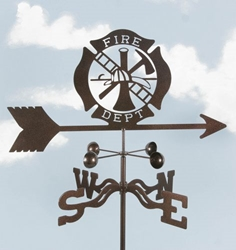 Fire Department Weathervane, EZ Vane Weather Vanes Item Number EZVFire
