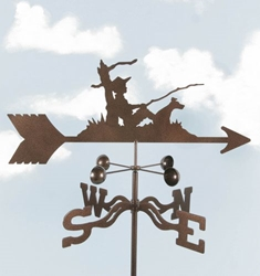 Fisherman Weathervane, EZ Vane Weather Vanes Item Number EZVFisherman