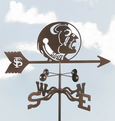 Florida State Seminoles Weathervane, EZ Vane Weather Vanes Item Number EZVFlorida