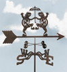 Dancing Frogs Weathervane