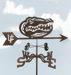 Florida Gators Logo Weathervane, EZ Vane Weather Vanes Item Number EZVGators