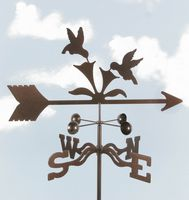 Hummingbirds Bird Weathervane