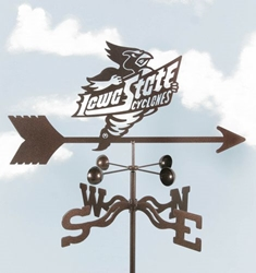 Iowa State Cyclones Logo Weathervane, EZ Vane Weather Vanes Item Number EZVIowa