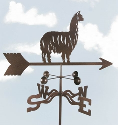 Alpaca/Llama Weathervane, EZ Vane Weather Vanes Item Number EZVLLama