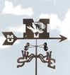 Missouri Tigers Logo Weathervane, EZ Vane Weather Vanes Item Number EZVMissouri