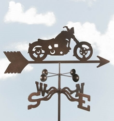 Classic Motorcycle Weathervane, EZ Vane Weather Vanes Item Number EZVMotorcycle