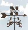 Nebraska Huskers Logo Weathervane, EZ Vane Weather Vanes Item Number EZVNebraska