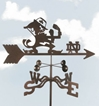 Notre Dame Fighting Irish Logo Weathervane, EZ Vane Weather Vanes Item Number EZVNotreDame