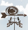 Penn State Nittany Lions Logo Weathervane